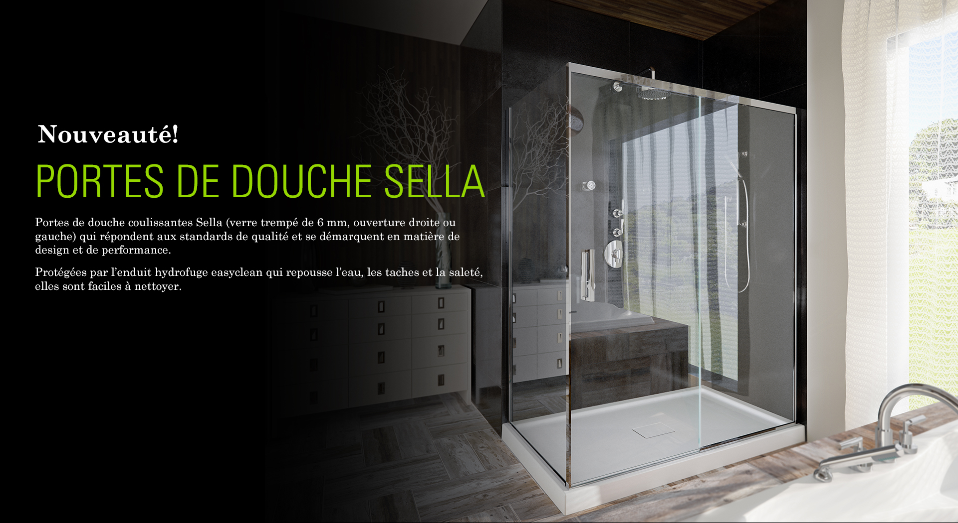 Salle de bain | Douche, bain et accessoires | Produits Neptune