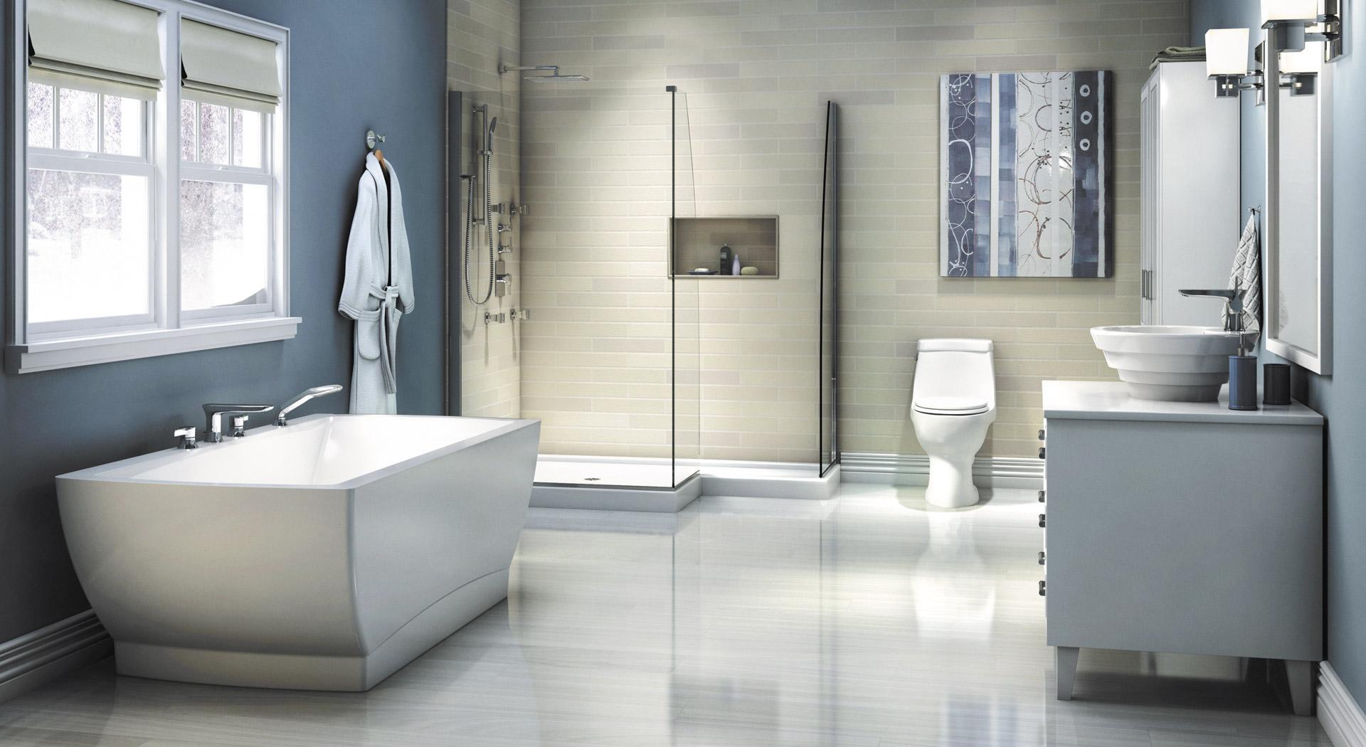 Bathroom | Shower, Bath & Accessories | Produits Neptune