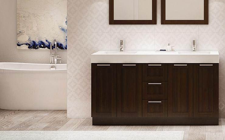 Stunning home hardware vanite salle de bain pictures for Vanite salle de bain ikea