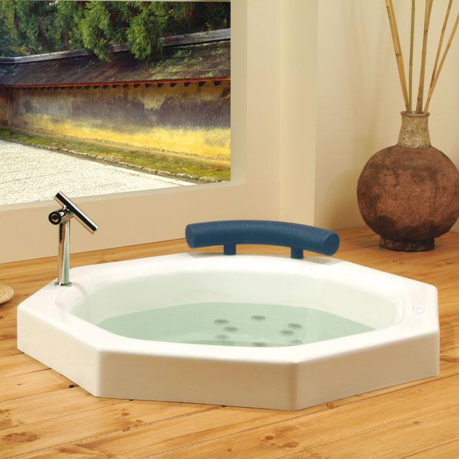neptune nagano 40 round japanese style round bath tub